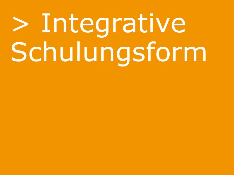 integrative schulform